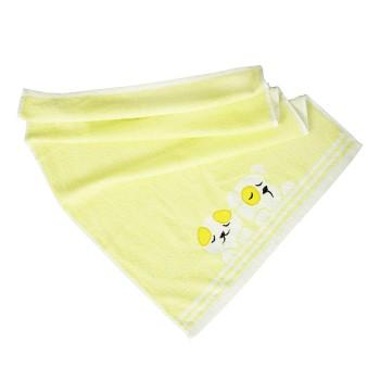 Dětský ručník bavlněný Baby žlutý