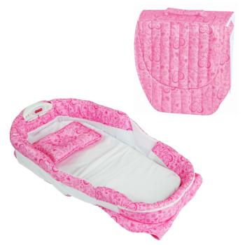 Hnízdo pro miminko růžové Nice ibaby