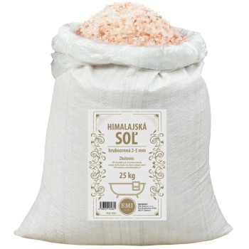 Himalájská sůl 25 kg