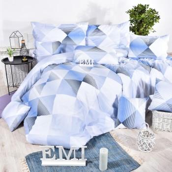 Povlečení bavlněné Easy modré EMI