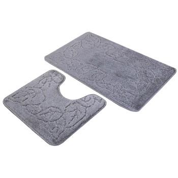 Koupelnové předložky set 2 kusů Tania šedé