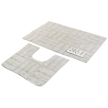 Kúpeľňový koberec Misori sivý AWD