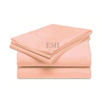 Prostěradlo růžové pevné EMI