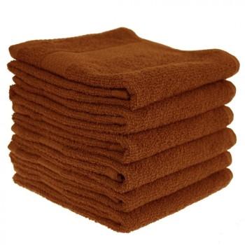 Dětský ručník bavlněný 30 x 50 cm skořicový EMI