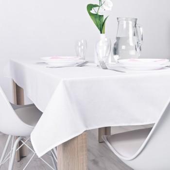 Ubrus na stůl bílý Classic 140x100 cm EMI