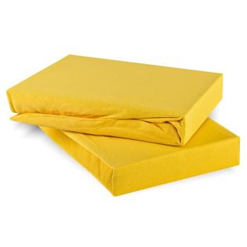 Prostěradlo světle žluté jersey EMI