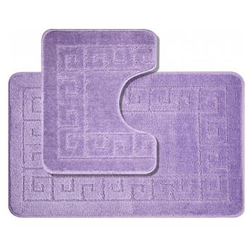 Koupelnové předložky set 2 kusů Esme fialové EMI