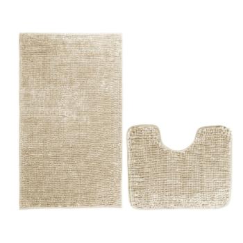 Koupelnové předložky set 2 kusů Lucida béžové EMI