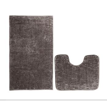 Koupelnové předložky set 2 kusů Brynn hnědé EMI