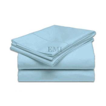 Prostěradlo modré pevné EMI