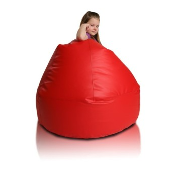 Sedací vak malá koule červená EMI