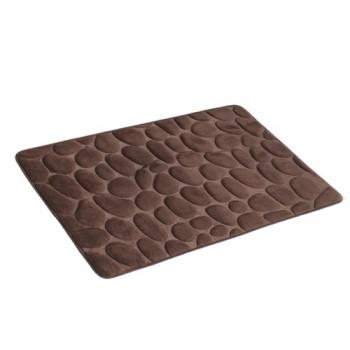 Koupelnový koberec 50 x 80 tmavě hnědý AWD