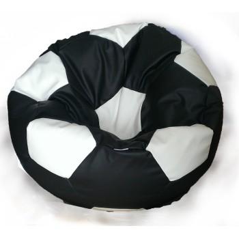 Sedací vak fotbalový míč černo-bílý EMI