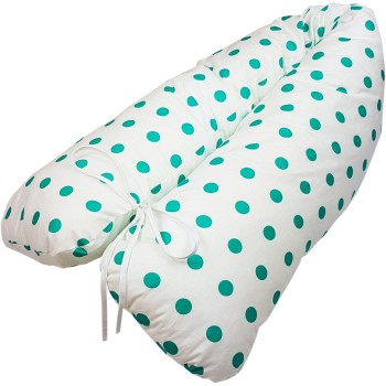 Těhotenský polštář Lulu zelený EMI