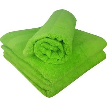 Ručník bavlněný zelený 50 x 90 cm EMI