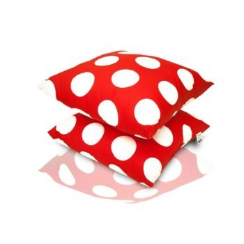 Dekorativní polštář Dots červený EMI
