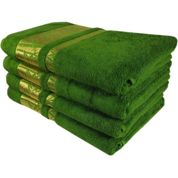 Osuška bambusová zelená 70 x 140 cm EMI