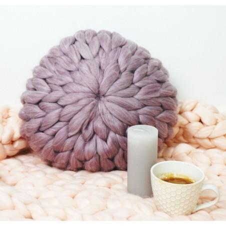Pletený dekorativní polštář EMI