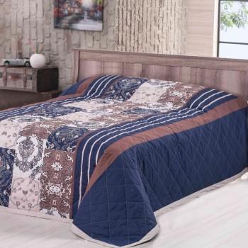 Přehoz na postel Paolina modrý Night In Colours