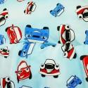 Povlečení dětské auta modré EMI